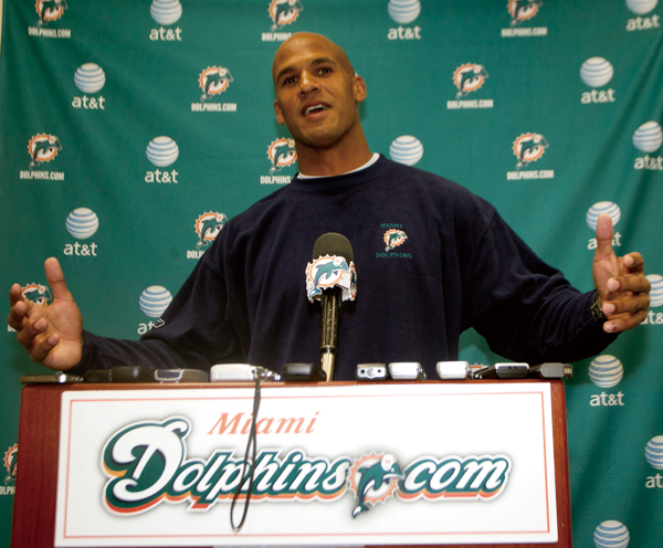 Miami Dolphins outside linebacker Jason Taylor announced he will retire after Sunday's game with the New York Jets. Taylor spoke to the press in Davie...