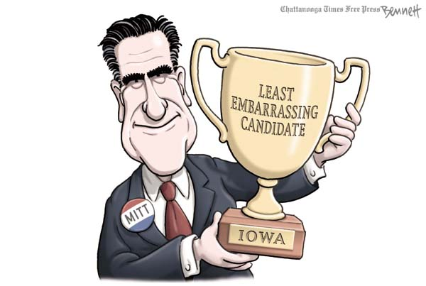 Least embarrassing candidate.(Washington Post)