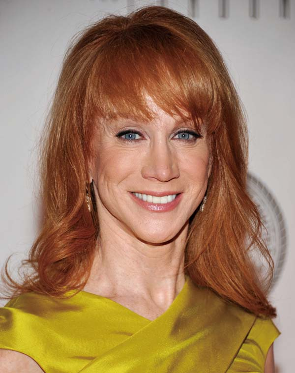 In this Dec. 1, 2010 file photo, comedian Kathy Griffin attends the Quentin Tarantino Friars Club Roast at the New York Hilton Hotel in New York.  (As...