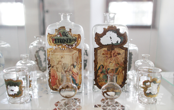Jars on display at the Museum of Pharmacy in the center of Bratislava, Slovakia, Feb. 21, 2012. (The New York Times)
