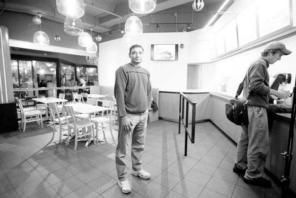 Sanjay Kansagra, owner of Chutney's in Cambridge, Mass., Dec. 9, 2011. (The New York Times)