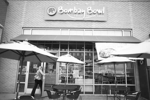 The exterior of a Bombay Bowl restaurant in Denver, Colo., Dec. 19, 2011.(The New York Times)