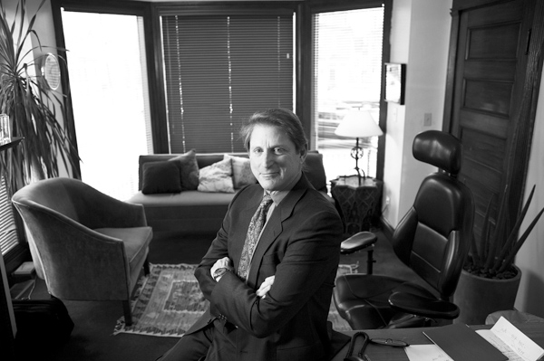 Terry Real, a psychologist and family therapist, at his office in Arlington, Mass., Feb. 27, 2012.  (The New York Times)