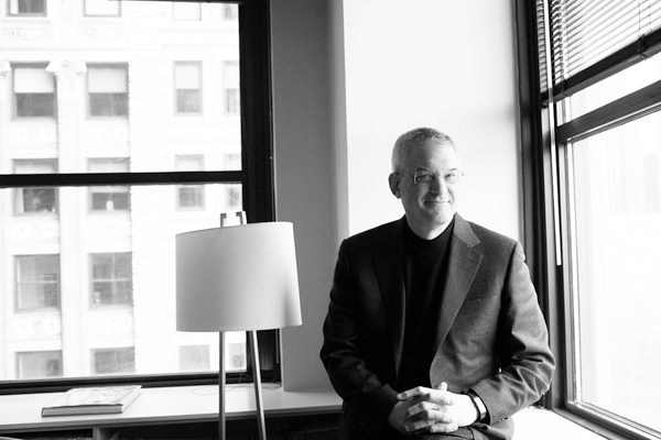 William Pinsof, professor of clinical psychology and president of the Family Institute at Northwestern University, at his office in downtown Chicago, ...