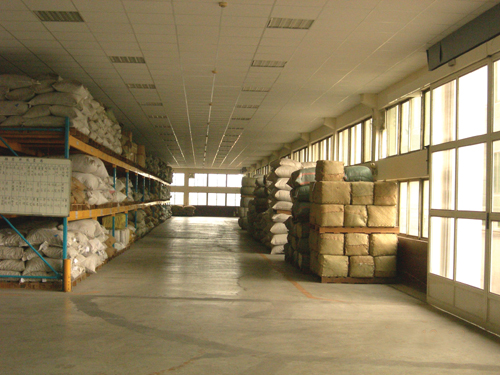 Warehouse of the GMP-qualified Sheng Chang ( 勝昌)Pharmaceutical Company