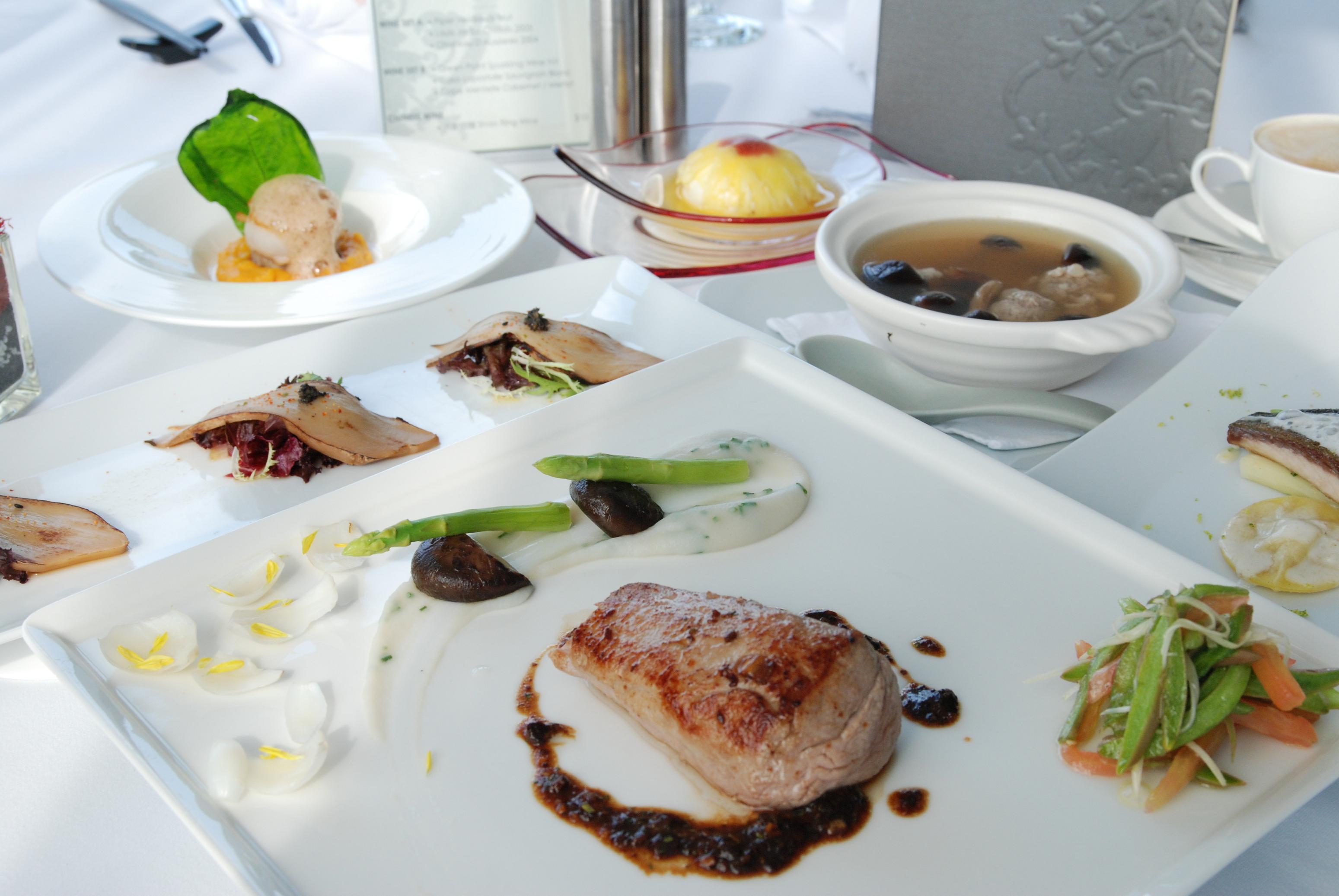 亞緻大飯店46F頂餐廳-東方美饌套餐