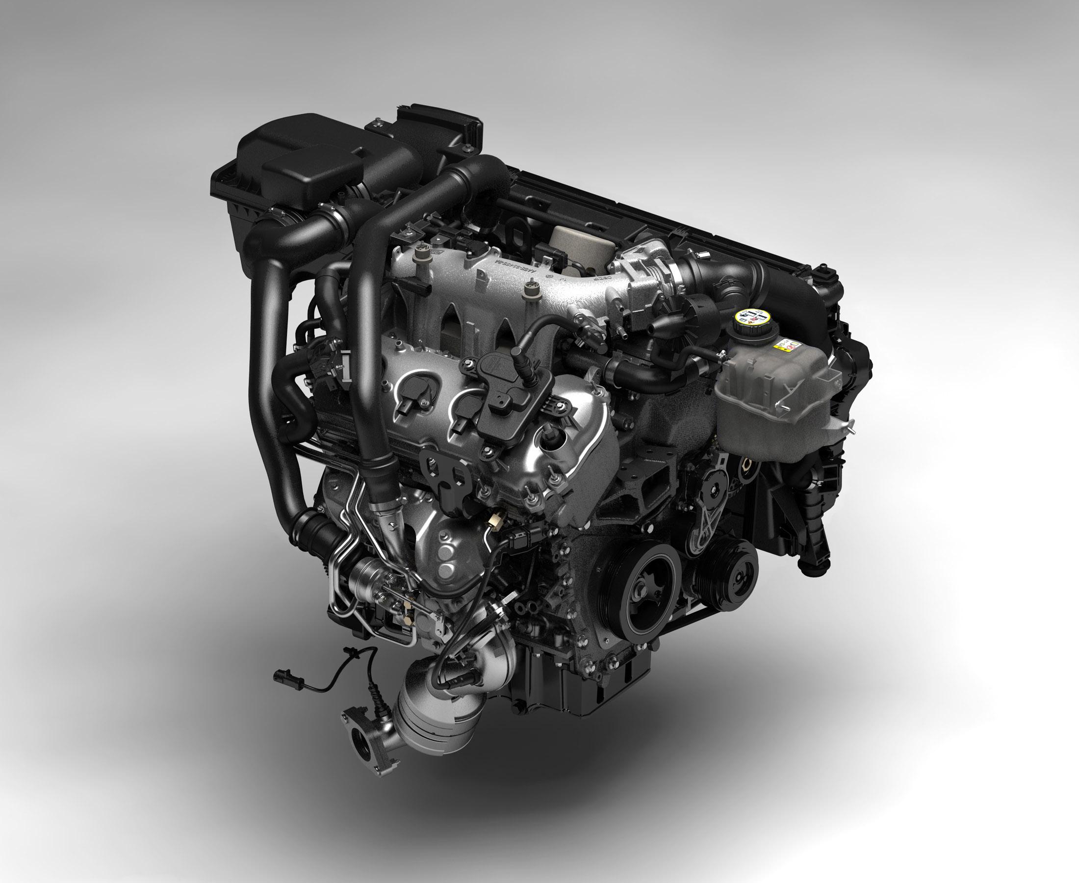 Ford EcoBoost渦輪增壓直噴汽油引擎,可以爆發高達180匹的大馬力,並同時減少20%的整體油耗數字、以及降低15%的CO2二氧化...