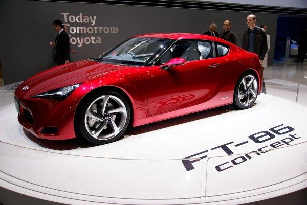 日本豐田車廠推出的令人興奮的概念車TOYOTA FT-86