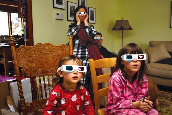 3-D glasses get a makeover