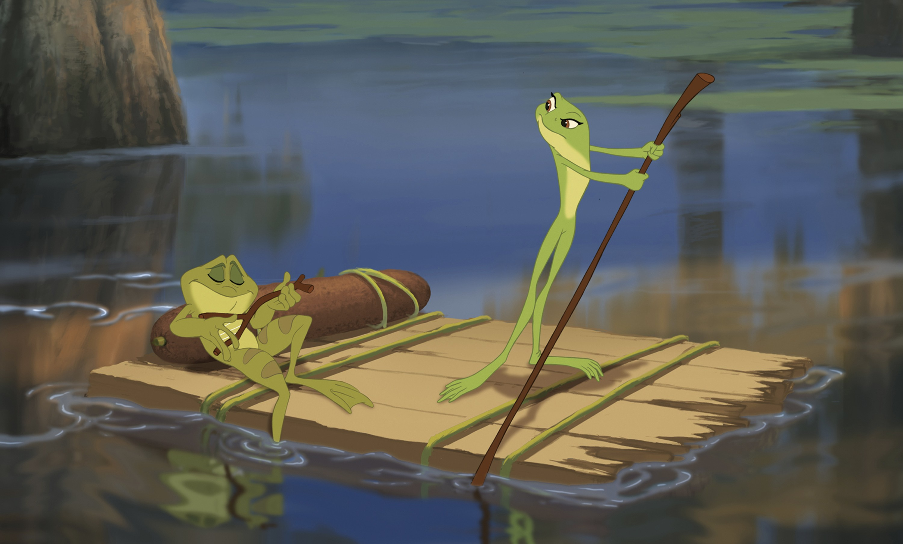 'Princess and the Frog' is a hearty hop