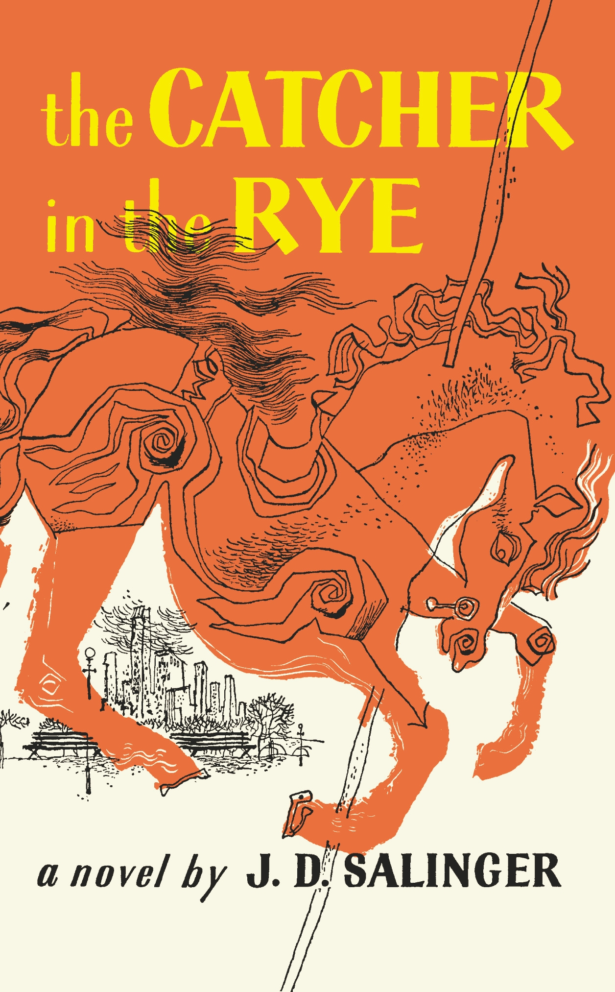 Salinger's 'The Catcher in the Rye,' is shown in this book cover image released by Little, Brown and Company, J.D.