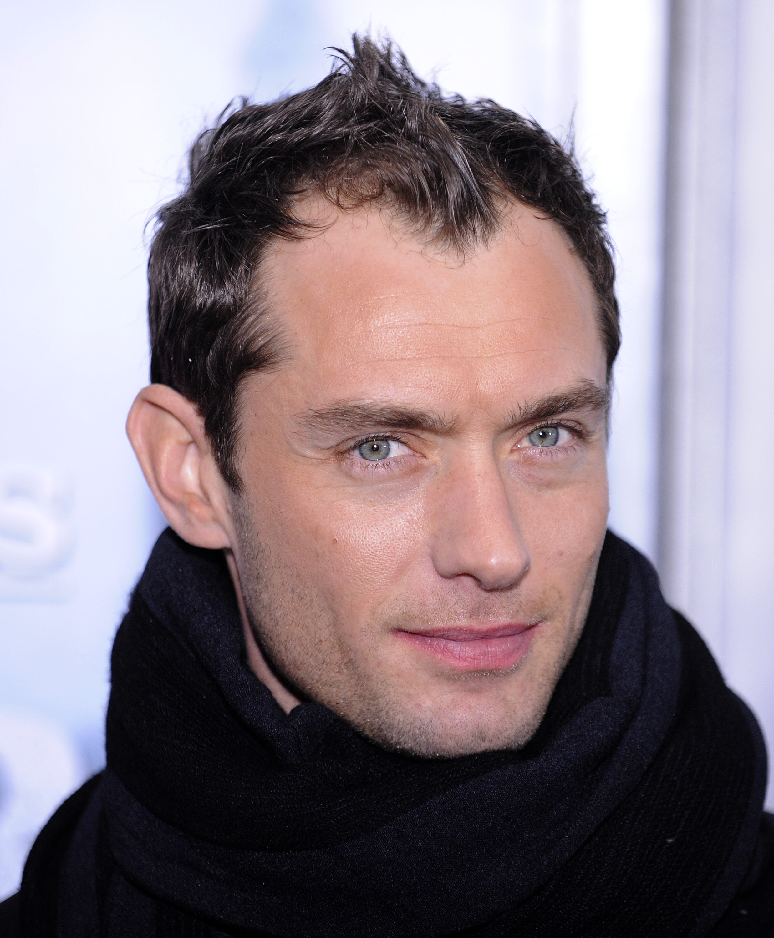 Actor Jude Law attends the premiere of 'Sherlock Holmes ' at Lincoln Center in New York, New York in this December 2009 file photo. Law has been nomin...