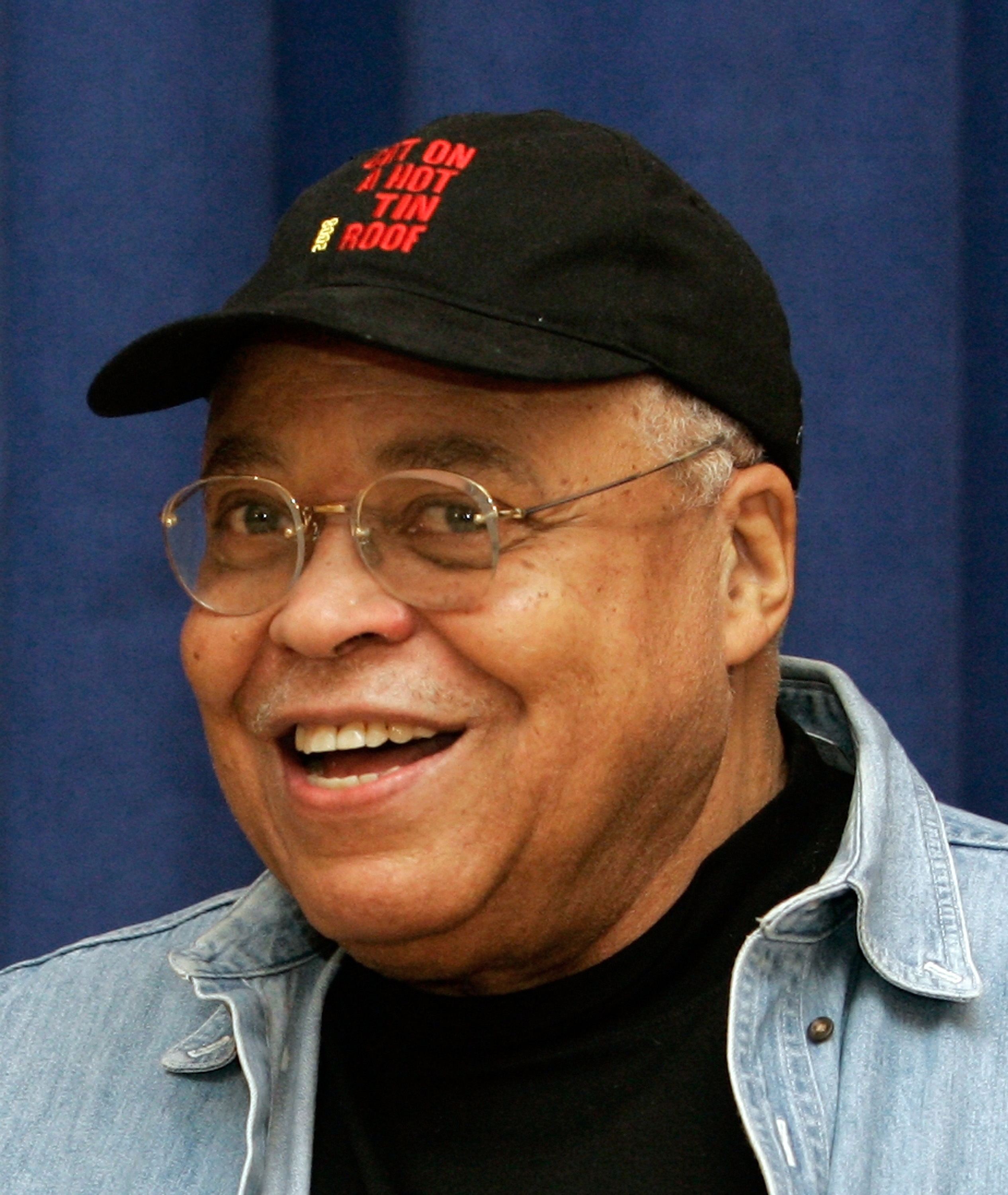 James Earl Jones is shown on the first day of rehearsal for the new Broadway production of 'Cat on a Hot Tin Roof ' in New York, New York in this Janu...