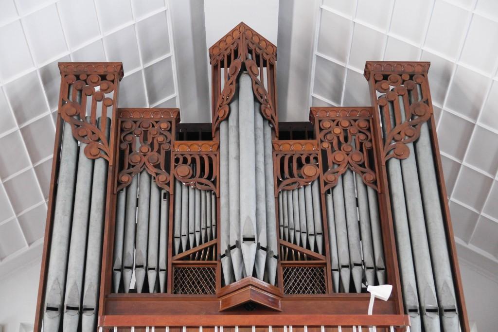 太平境馬雅各紀念教會的管風琴擁有廣大的音域與多彩多姿的音色。