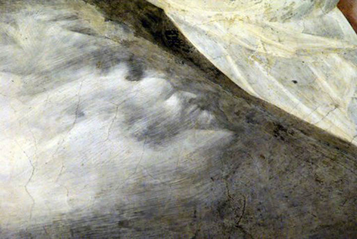 The devil is in the details of Giotto's fresco in Assisi, Italy