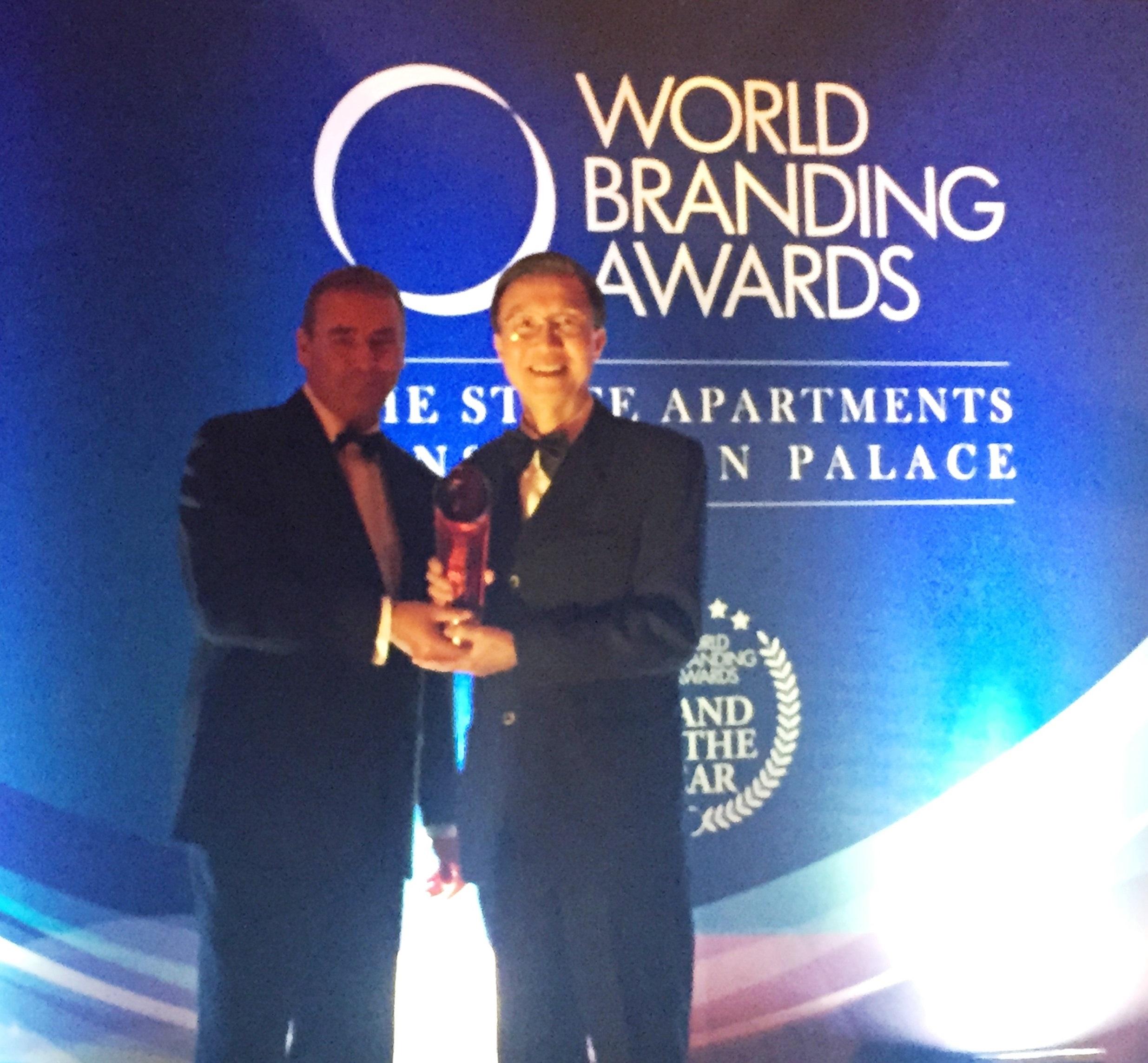 中華電信品牌遠播海外 榮獲「世界品牌獎」