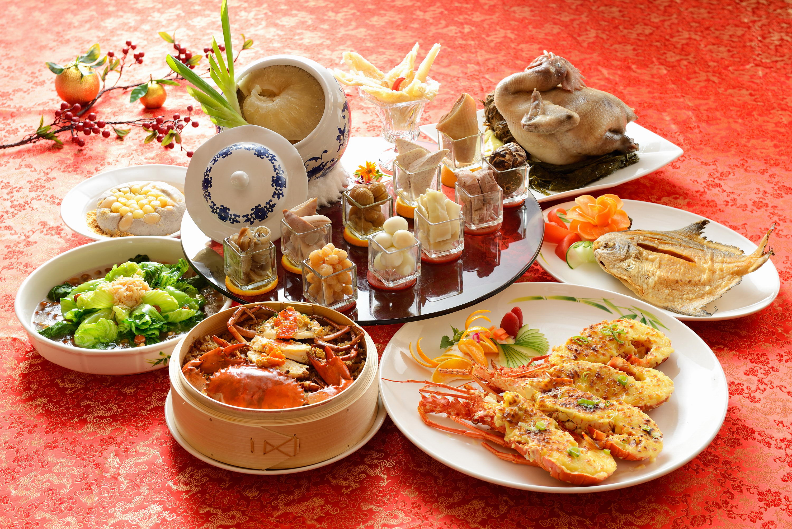 The Howard Plaza Hotel Taipei Presents Chinese New Year Dishes Take-outs!