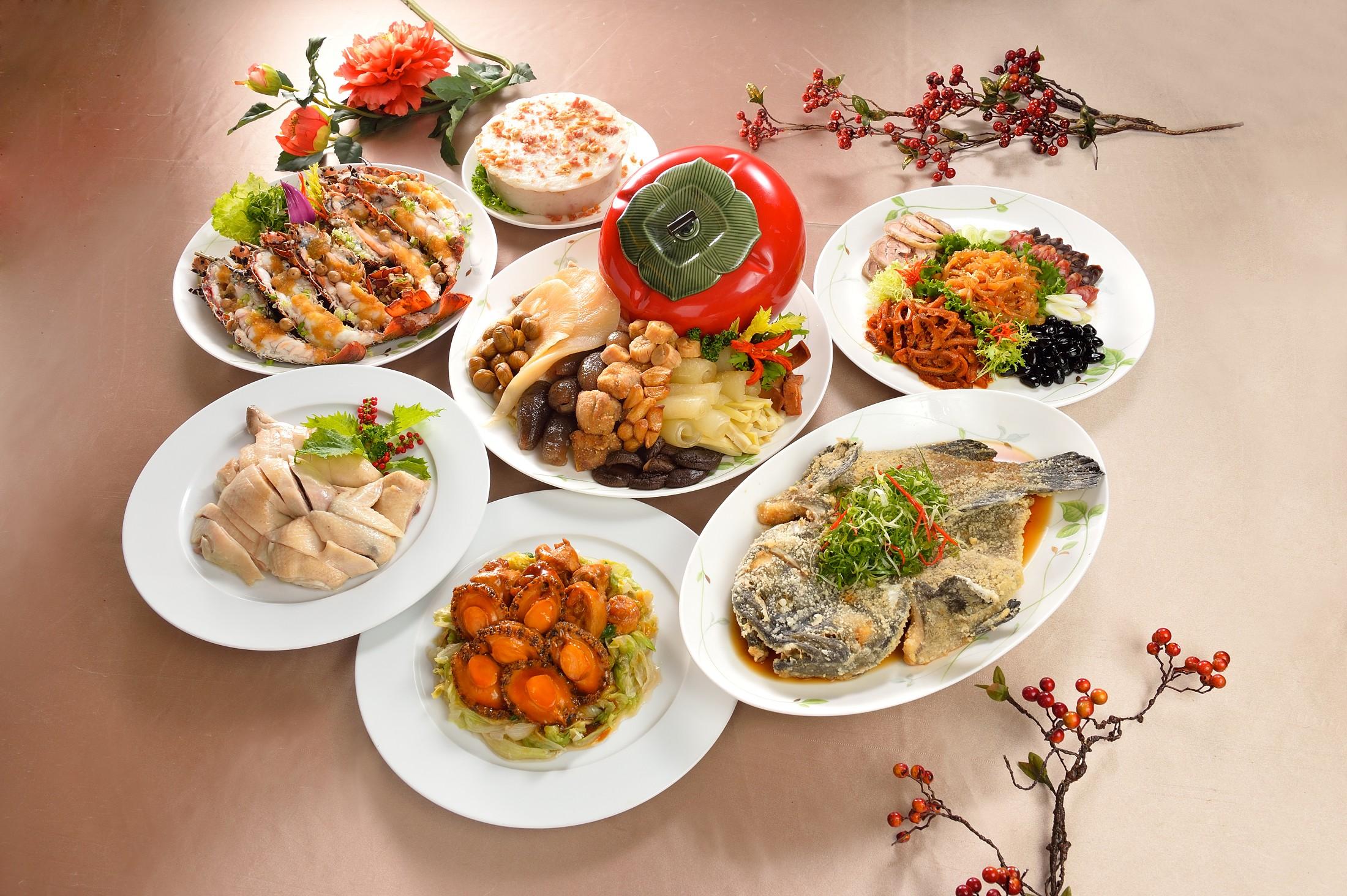 珍珠仿 -廣式年菜套餐.