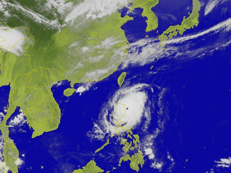 Sea warning issued for strong Typhoon Noul