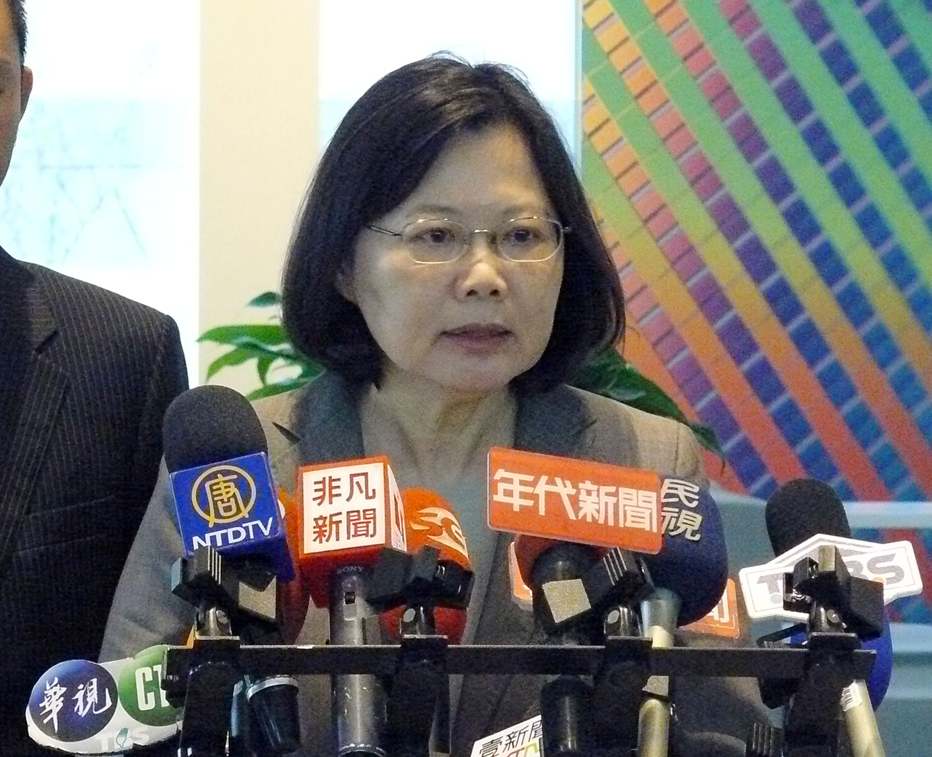 Tsai to visit  6 US cities in 12 days