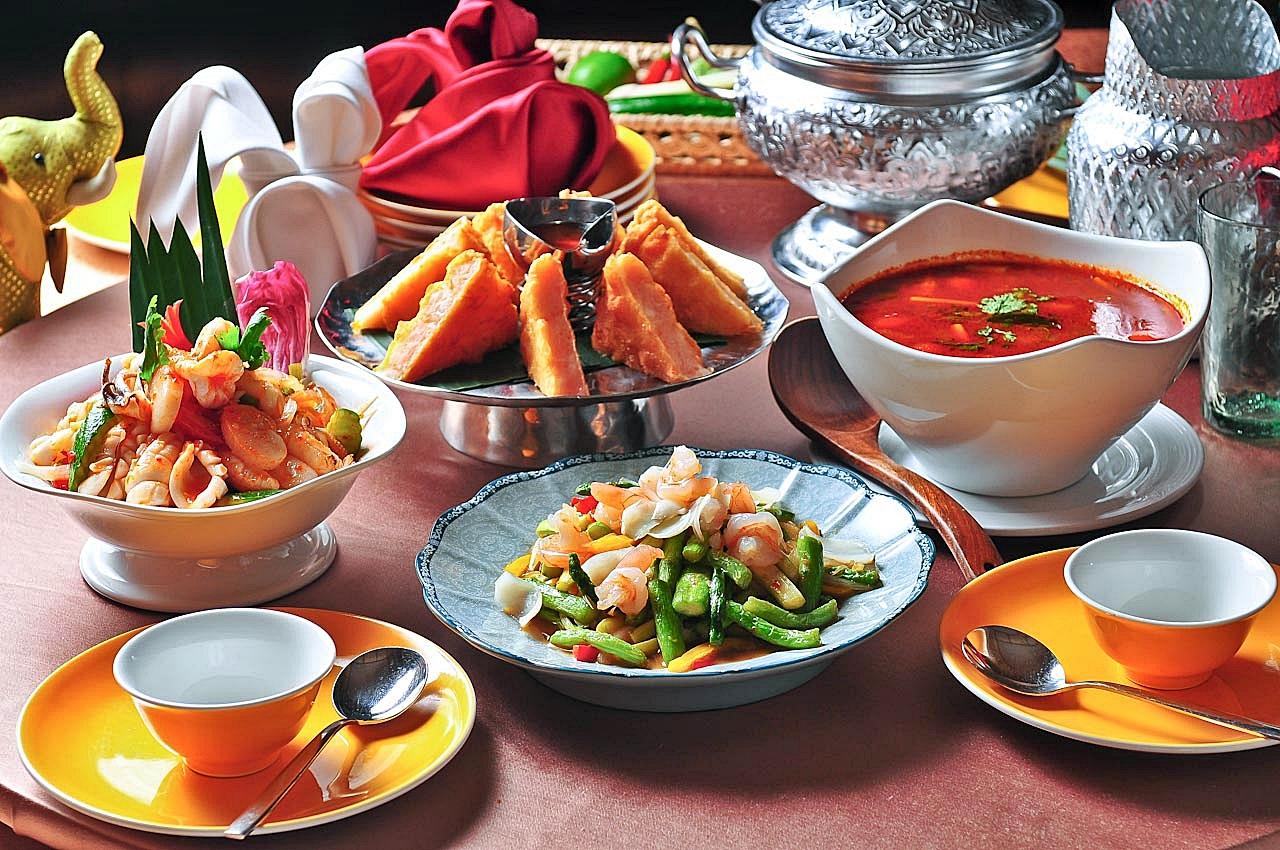 古華飯店 中西泰式料理犒賞辛苦的爸爸