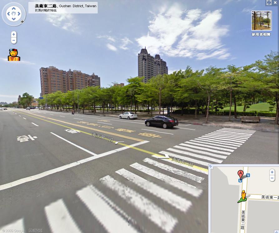 Google Maps也推出了3D街景,在街景模式下,按一下最左上角的3D眼鏡人頭圖像,就能將街景服務轉為3D的影像,只要載上紅青色的3D...