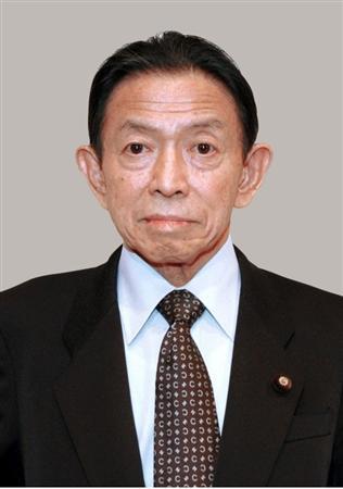 Takeo Nishioka, Japanese Senate President passed away at age 75