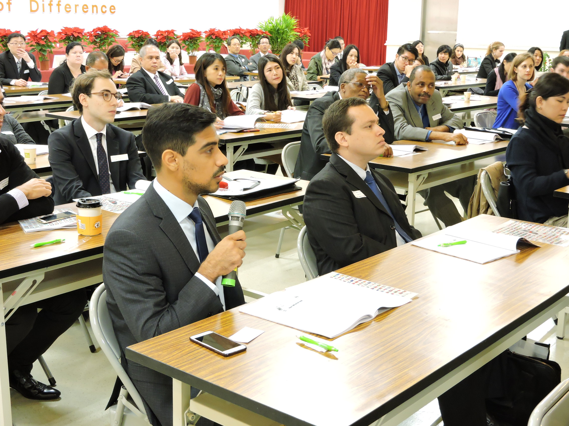 The first time the National Immigration agency held a forum on foreign affairs workshop (外事工作坊)  Picture / National immigration agency