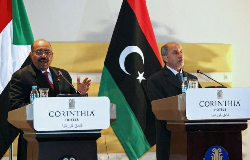 Bashir's arrival in Tripoli marked his first Libya visit since Kadhafi was ousted (AFP, Mahmud Turkia)