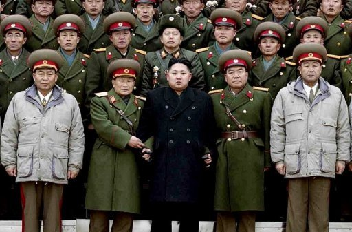 North Korea young new leader Kim Jong-Un called military  genius
