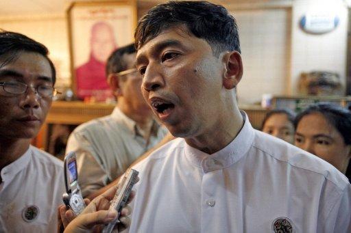 Myanmar is set to free prominent democracy activist Min Ko Naing (AFP/File, Khin Maung Win)