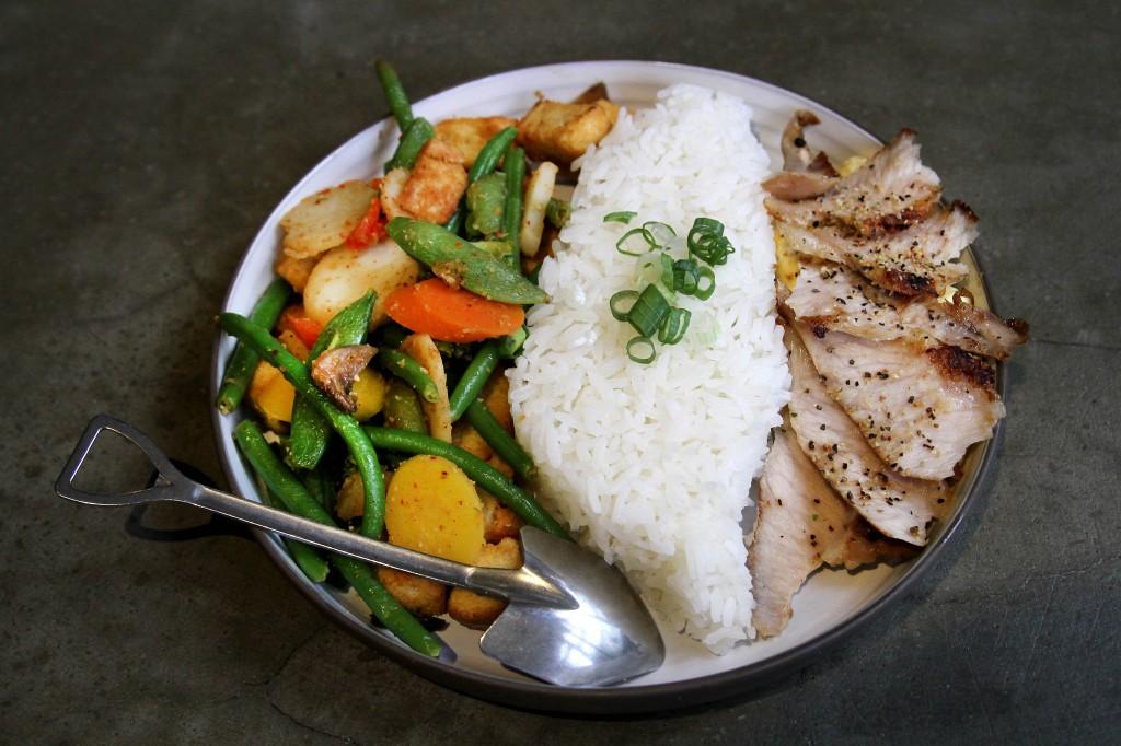 台灣造型米飯,採用美味享譽世界的泰國茉莉香米。