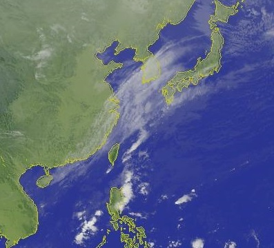 Chilly and wet weather conditions in northern Taiwan