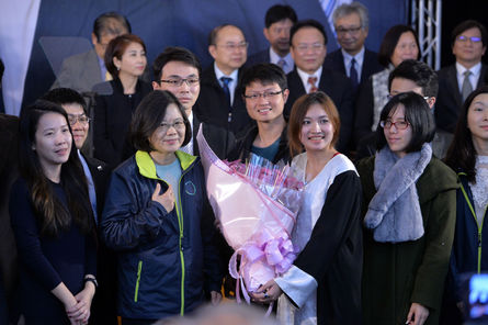 Tsai pledges to create a human rights commission