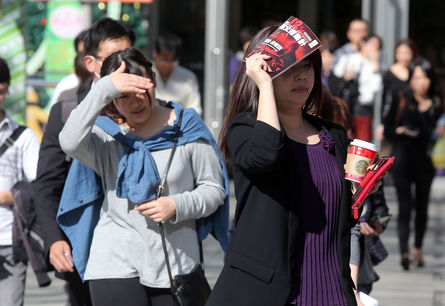 Hottest winter solstice in Taiwan in 67 years