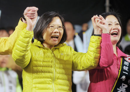 Tsai denounces labeling of her foreign policy