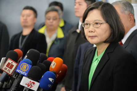 Tsai tight-lipped about whether to visit Taiping Island