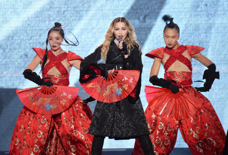 Madonna arrives in Taiwan for her Rebel Heart Tour