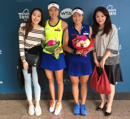 Local players face off at doubles semifinals of Taiwan Open