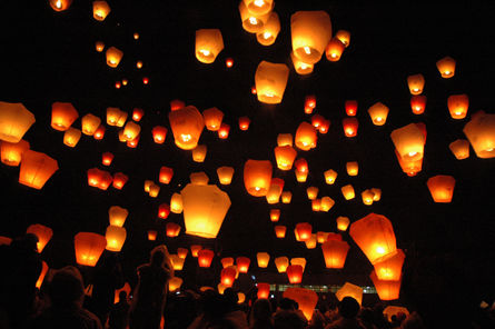 Pingxi to fly lantern with fingerprints of 1,000 couples