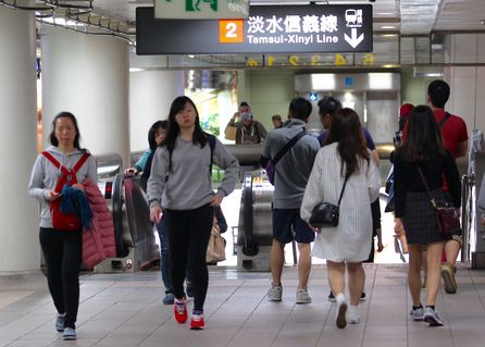 Taipei Metro adds Japanese and Korean interfaces to ticket machines