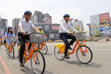 Hsinchu launches YouBike with 30-munute free ride
