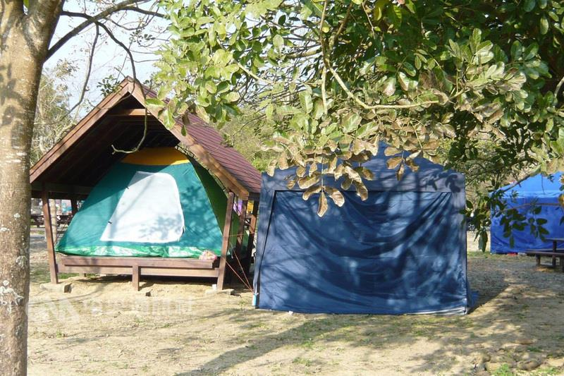 A place for camping—Hutoupi in Tainan