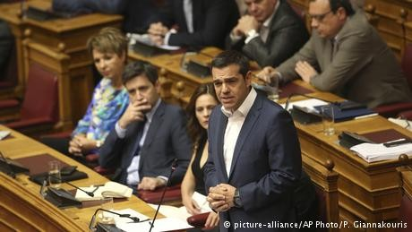 Greek PM survives no-confidence vote over Macedonia name