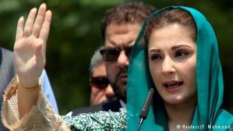 Maryam Nawaz, challenging Pakistan's powerful army