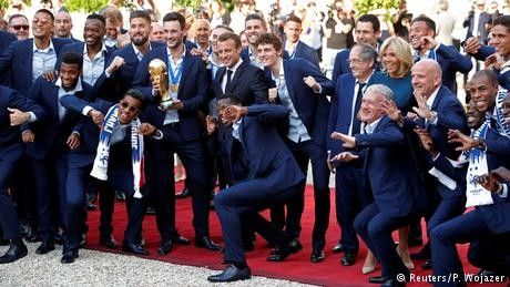 France's top honour for World Cup team
