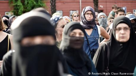 Denmark fines first woman for violating face veil ban