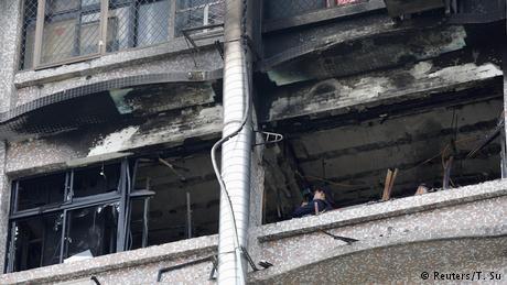 Deadly blaze breaks out in Taiwan hospital in highrise building