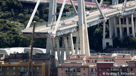 Italy opens probe into operator of collapsed Genoa bridge