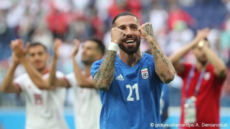 Iran's tattoo taboo hounds footballer Ashkan Dejagah